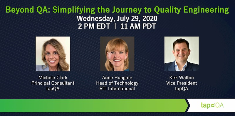 Beyond QA: Simplifying the Journey to Quality Engineering