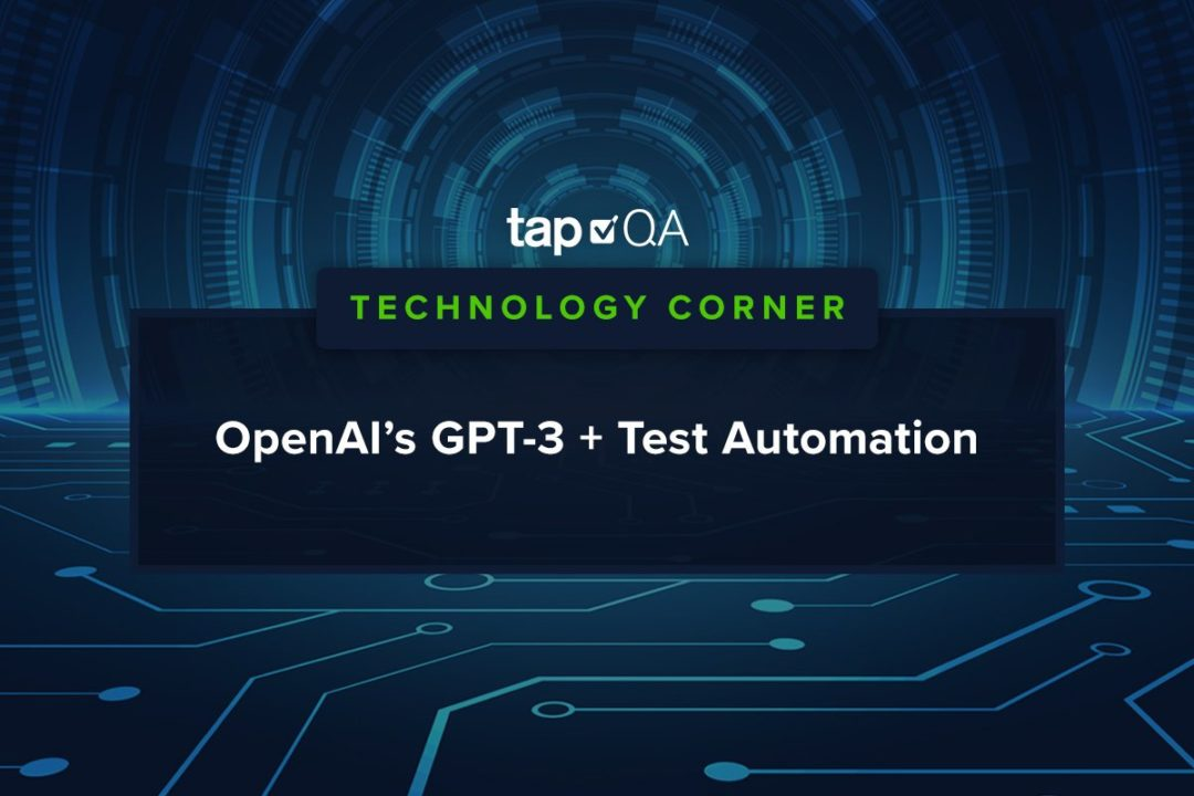 OpenAI GPT-3 Test Automation