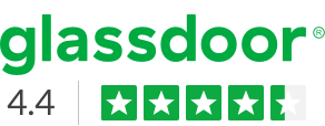 Glassdoor - 4.4 Star Rating